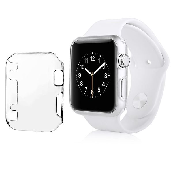Insten Hard Snap-on Crystal Smartwatch Case Cover For Apple Watch 38mm