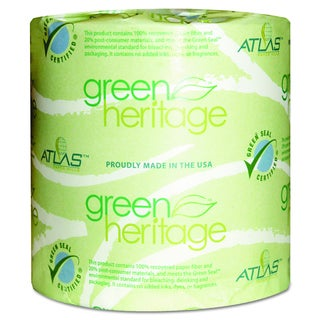 Atlas Paper Mills Green Heritage 1-Ply Bathroom Tissue (Pack of 96)