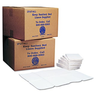 Koala Kare Baby Changing Station Sanitary White Bed Liners (Pack of 500)