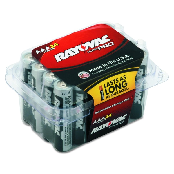 Rayovac Ultra Pro AAA Alkaline Batteries (Pack of 24)