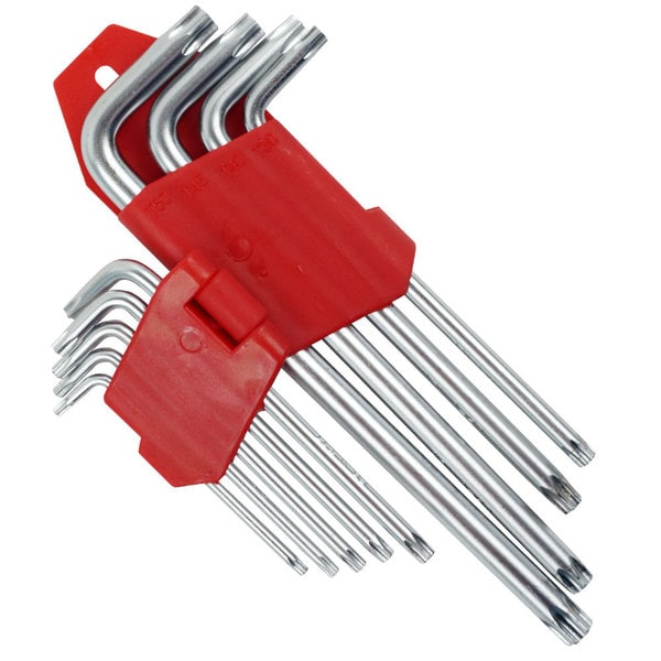 9 Piece Long TORX Key Set by Stalwart