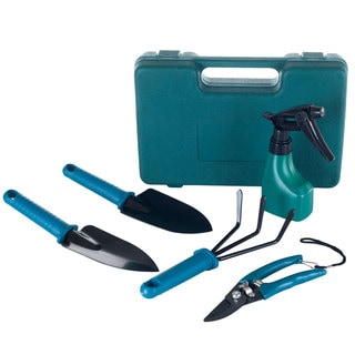 6 Piece Garden Tool Set with Carrying Case by Stalwart