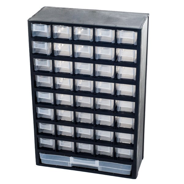 Compartment Hardware Storage Box By Stalwart  Overstock