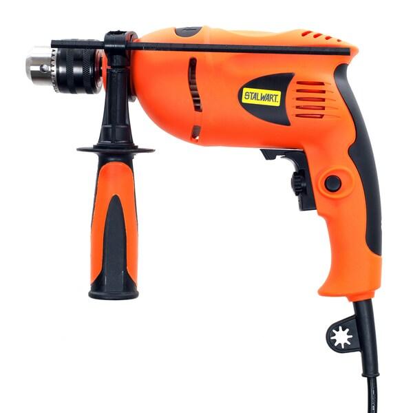 Stalwart 5.0 Amp 120 Volt Hammer Drill 1/2 Inch