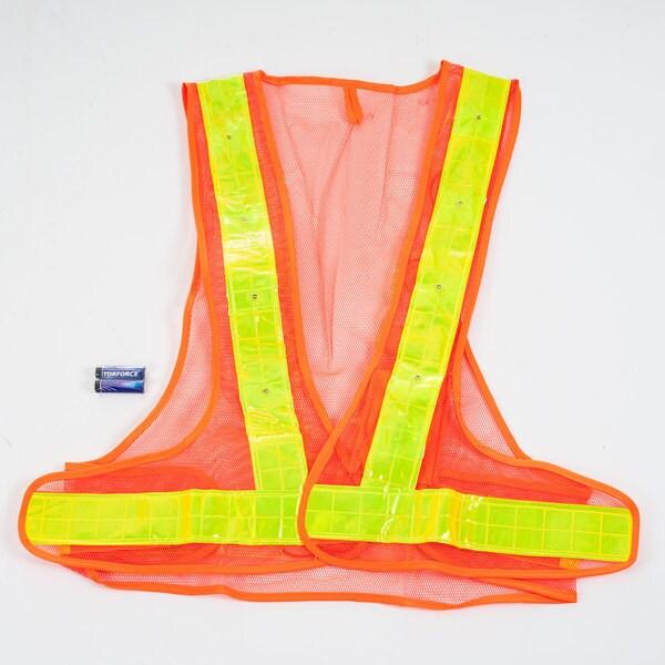 16 LED Flashing Safety Vest by Stalwart