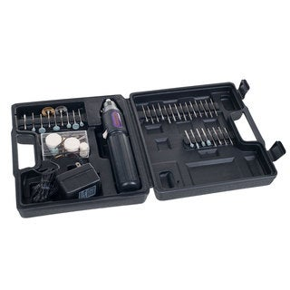 High Speed Cordless and Rechargeable Rotary Tool Set, 60-Piece by Stalwart