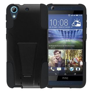 Insten Hard PC/ Silicone Dual Layer Hybrid Phone Case Cover with Stand For HTC Desire 626/ 626s