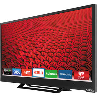 Vizio E24-C1 24-inch 1080p 60Hz Smart LED HDTV (Refurbished)