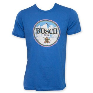 Busch Beer Retro Circle Logo T-Shirt