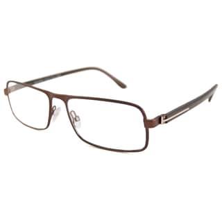 Tom Ford Men's TF5201 Rectangular Reading Glasses