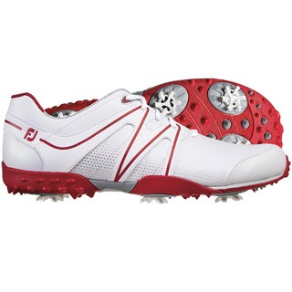 FootJoy Mens M Project White-Red Golf Shoes