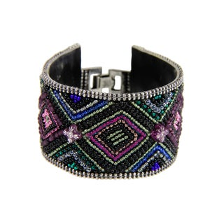 Saachi Handmade Diamond Beaded Bracelet (India)