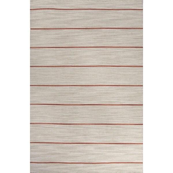 Flatweave Casual Pumice Stone/Sierra Wool (9x12) Area Rug