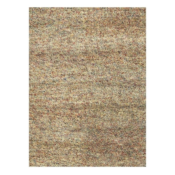 Hand-Woven Contemporary Mix/Mix Wool (5x8) Area Rug