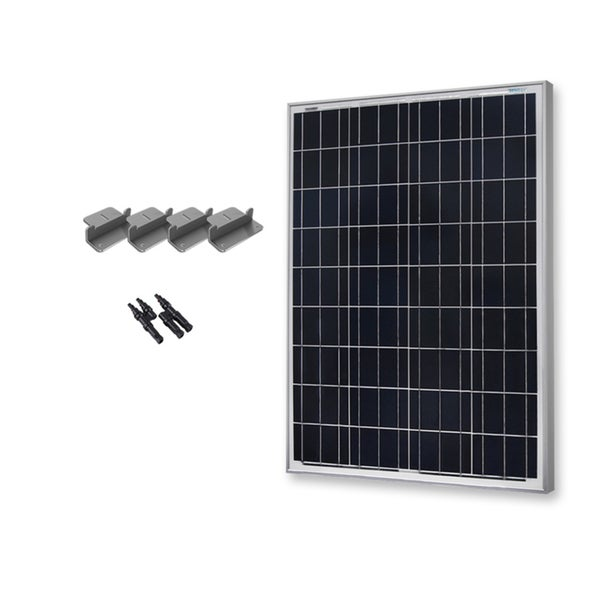 Renogy 100 Watts 12 Volts Polycrystalline Solar Expansion Kit