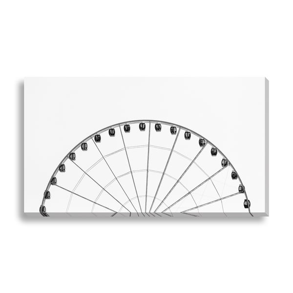 New Era Photography 'Half Wheel' Canvas Gallery Wrap