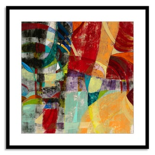 Gallery Direct Sara Abbott 'Instant Karma II' Paper Framed