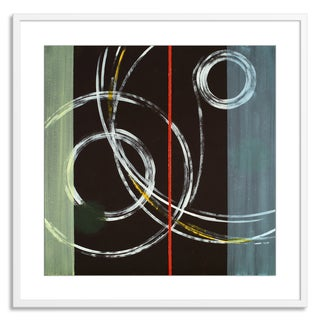 FTOLIA 'an abstract painting' Paper Framed