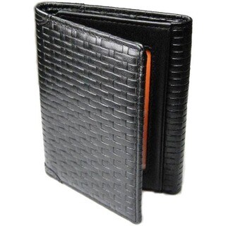 Castello Leather Tri-Fold Wallet With RFID