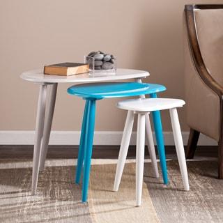 Upton Home Briden Nesting Table 3pc Set