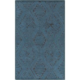 Hand-Woven Oldbury Taxtured Indoor Wool Rug (8' x 10')