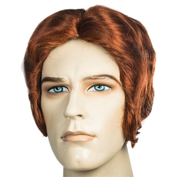 Men's Auburn Red Wig