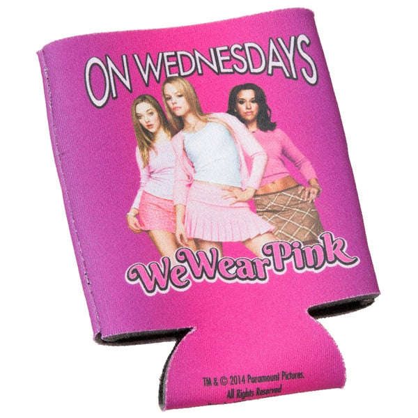 Mean Girls On Wednesdays We Wear Pink Coozy