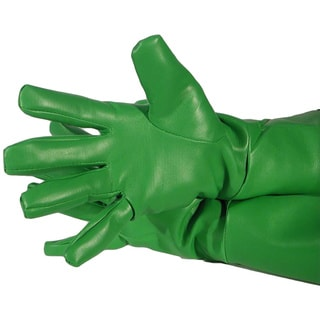 Green Superhero Oversized Gloves