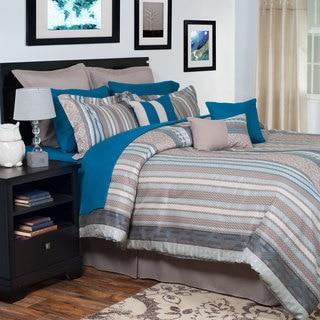 Windsor Home Angela Oversized Embroidered 14-piece Comforter Set