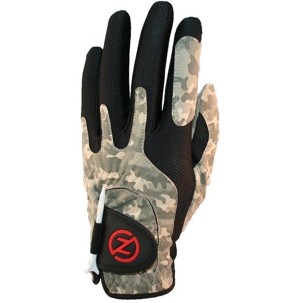 Zero Friction Performance Men's Golf Glove Left Hand Camo Desert