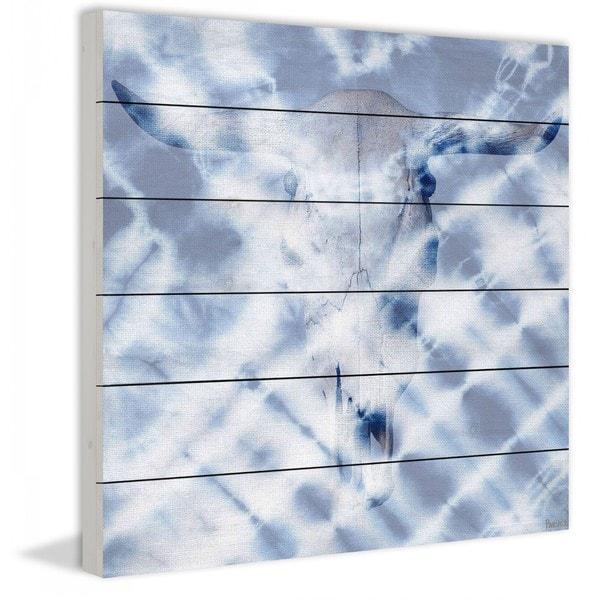"Parvez Taj - ""Spotlights"" Print on White Wood"