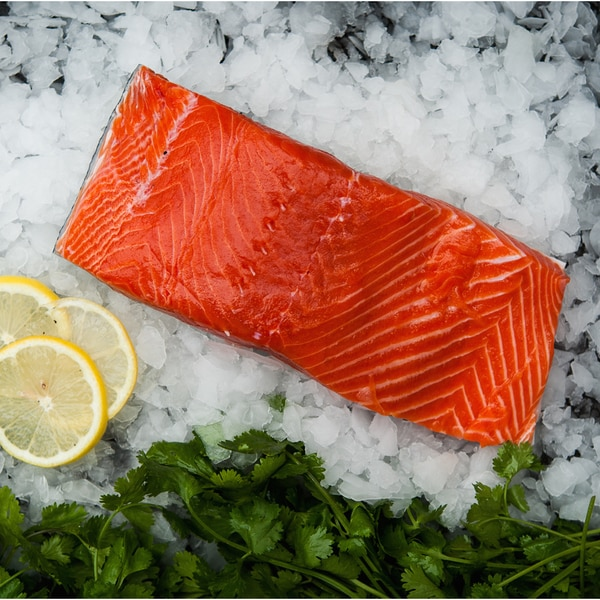 Siren Fish Co. Wild-caught 5-ounce King Salmon Steaks (Pack of 8)