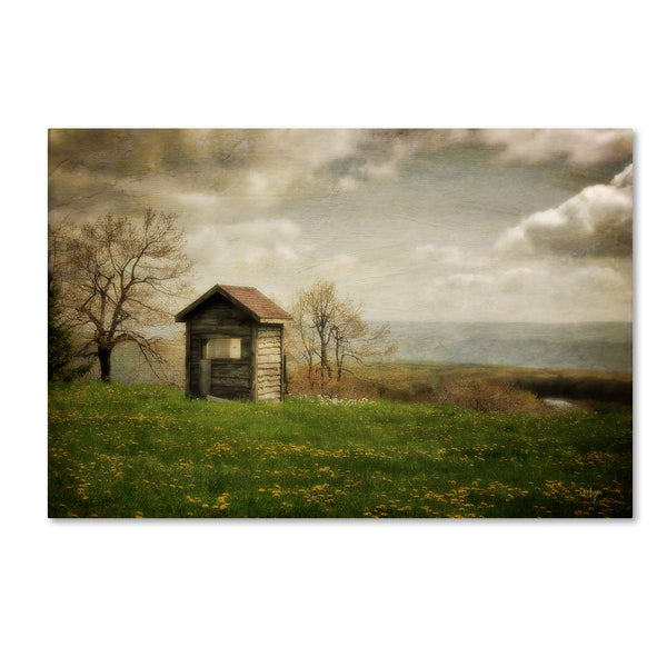 Lois Bryan 'Room With a View' Canvas Art