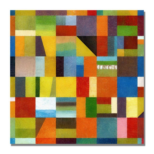 Michelle Calkins 'Eye Candy 64' Canvas Art