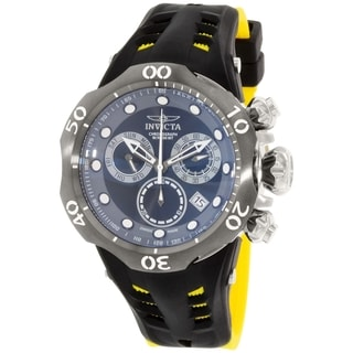 Invicta Men's Venom 16996 Black Silicone Swiss Chronograph Watch