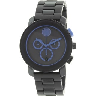 Movado Men's Bold 3600270 Black Resin Swiss Quartz Watch
