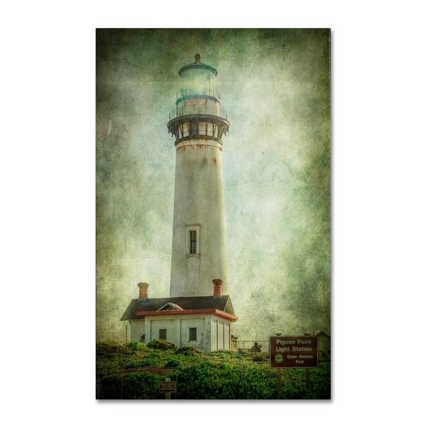 Erik Brede 'Pigeon Point Light Station' Canvas Art