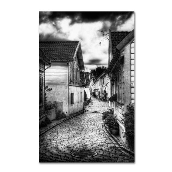 Erik Brede 'Old Stavanger Part II' Canvas Art