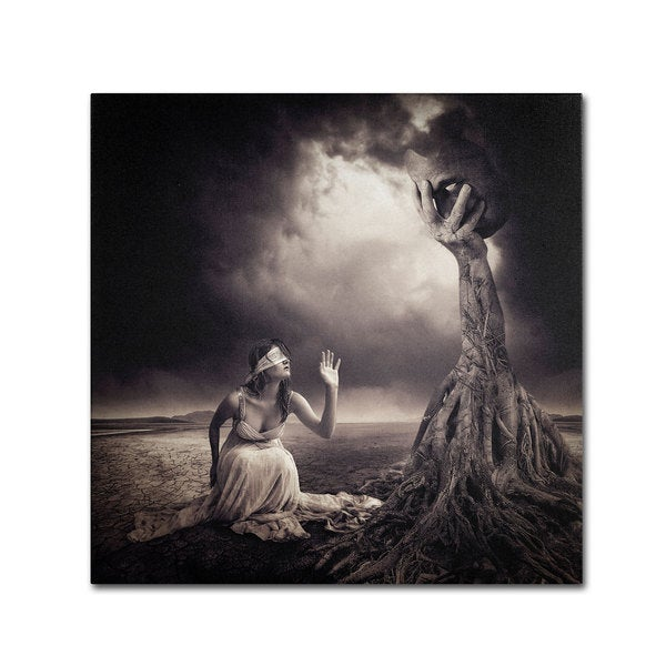 Erik Brede 'Is There Anybody Out There' Canvas Art 16002136
