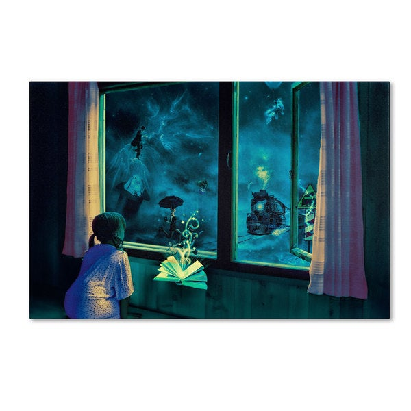 Erik Brede 'Bedtime Stories' Canvas Art