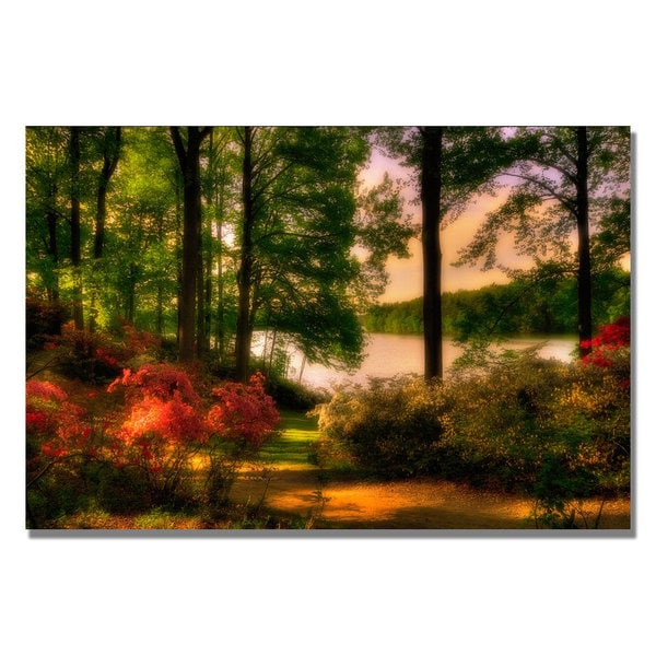 Lois Bryan 'A Walk in the Park' Canvas Art