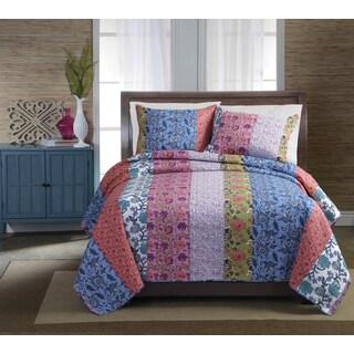 Newberry Cotton 3-piece Quilt Set