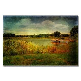 Lois Bryan 'Gone Fishin' Canvas Art