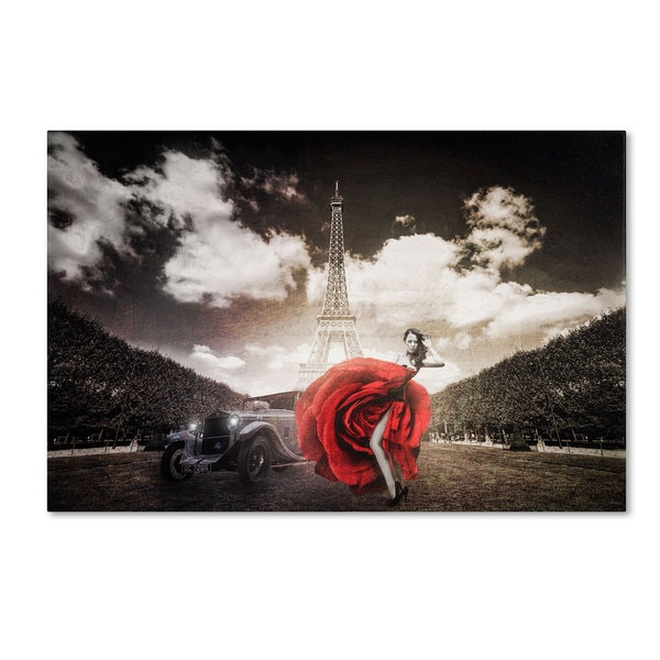 Erik Brede 'Tango in Paris' Canvas Art
