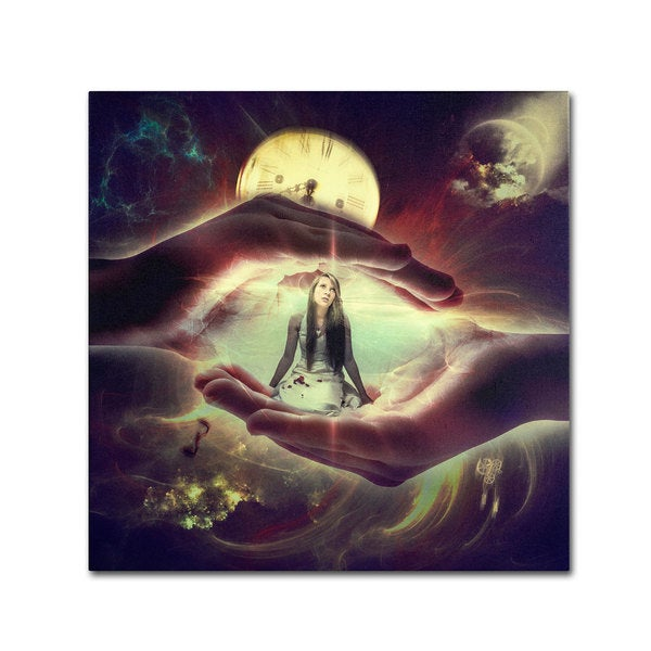 Erik Brede 'Protect Me from the World' Canvas Art
