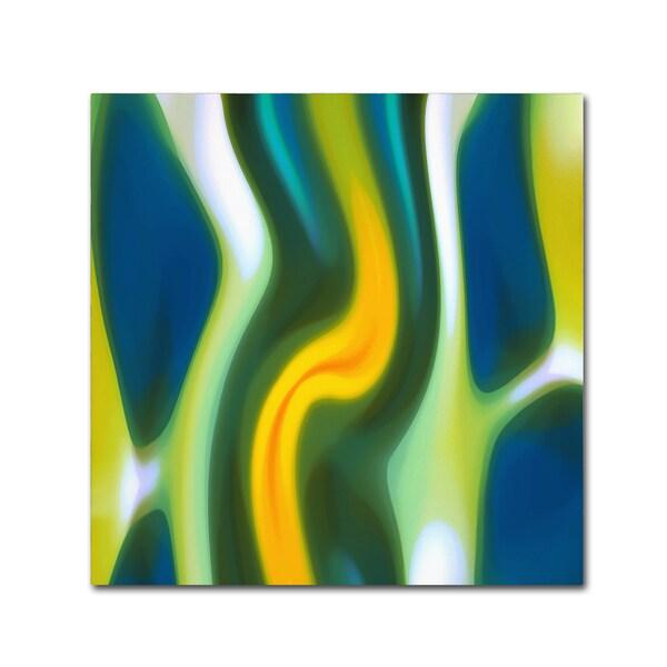 Amy Vangsgard 'Fury Stream 8' Canvas Art