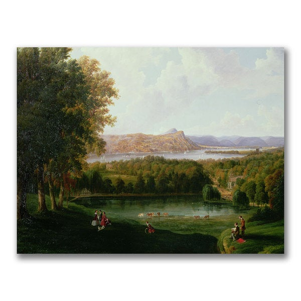 Robert Havel 'View from the Tarrytown' Canvas Art