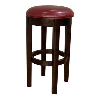 Alana Upholstered Swivel Bar Stool Red (Set of 2)