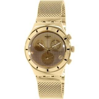 Swatch Men's Irony YCG410GA Gold Stainless-Steel Swiss Quartz Watch