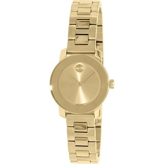 Movado Women's Bold 3600235 Gold Stainless-Steel Swiss Quartz Watch